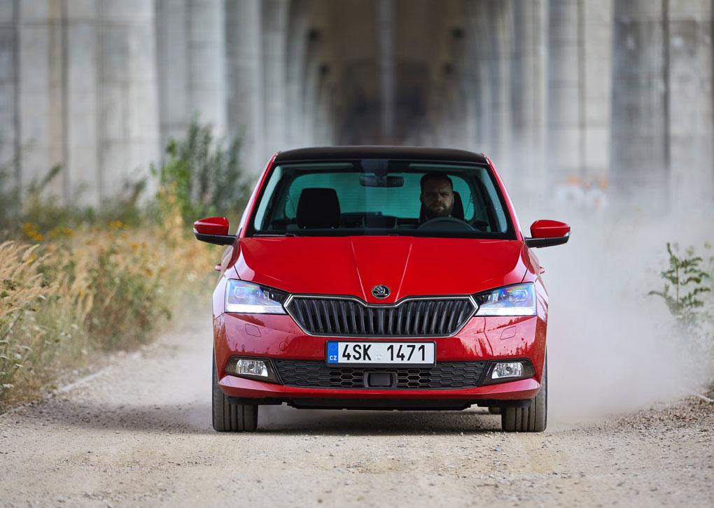 alt Škoda Fabia
